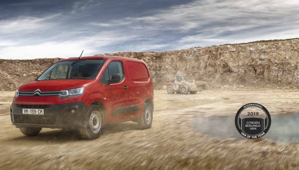 Citroën Berlingo: International Van of the Year 2019
