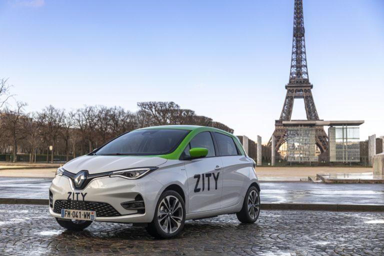ZITY: car-sharing από Renault και Ferrovial στο Παρίσι