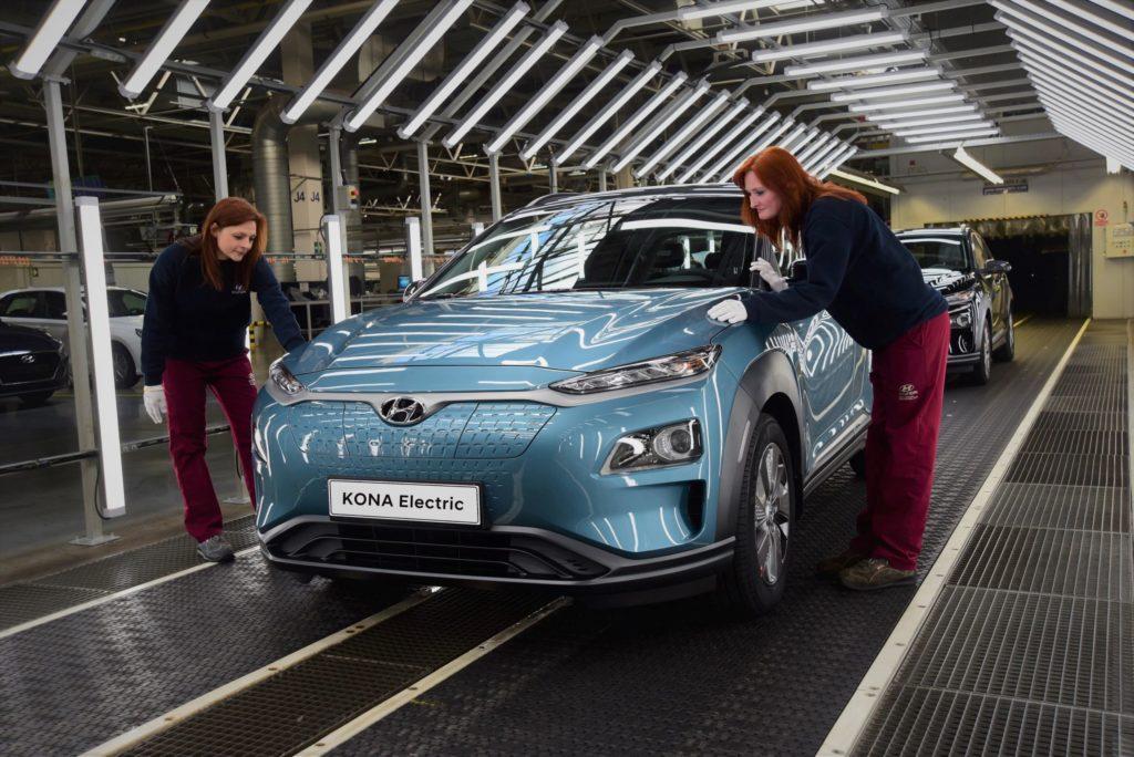 Το Kona Electric θα ενταχθεί το Μάρτιο του 2020 στη γραμμή παραγωγής της Hyundai στην Τσεχία βελτιώνοντας τον χρόνο παράδοσης στην Ευρώπη