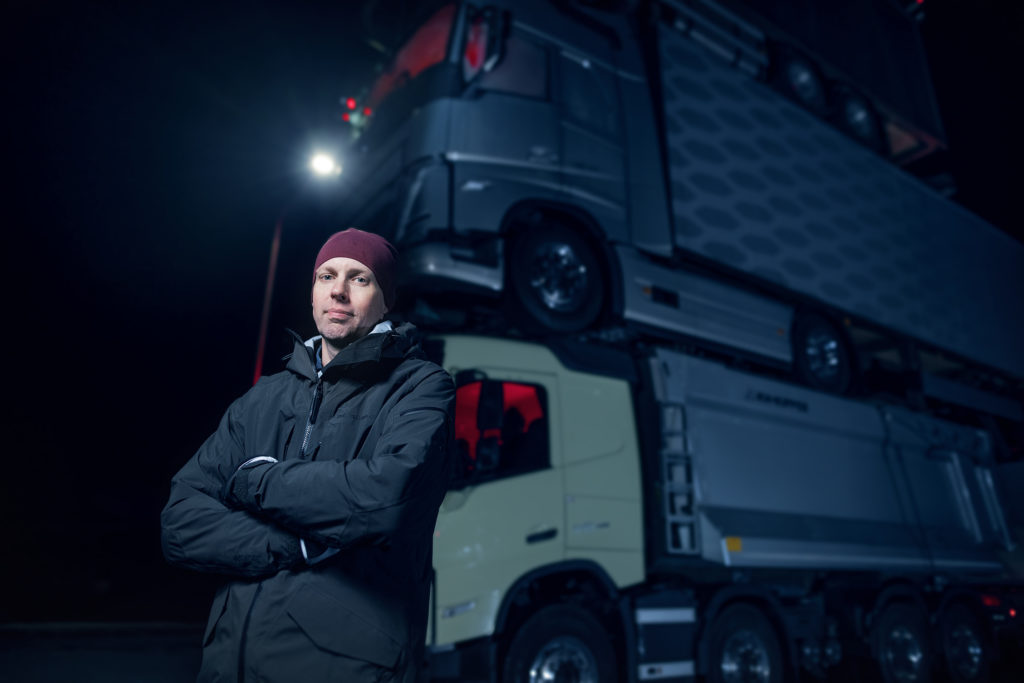 Markus Wikström, μηχανικός της Volvo Trucks