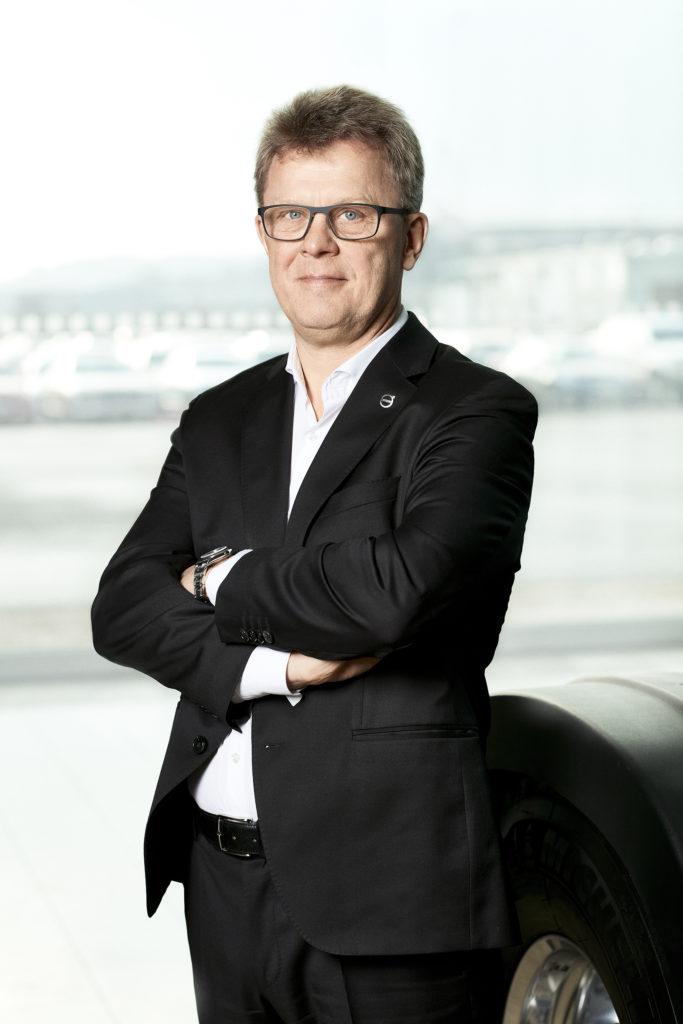 Roger Alm, πρόεδρος της Volvo Trucks