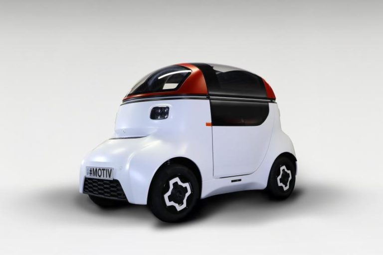 MOTIV: Νέο μονοθέσιο αυτόνομο όχημα