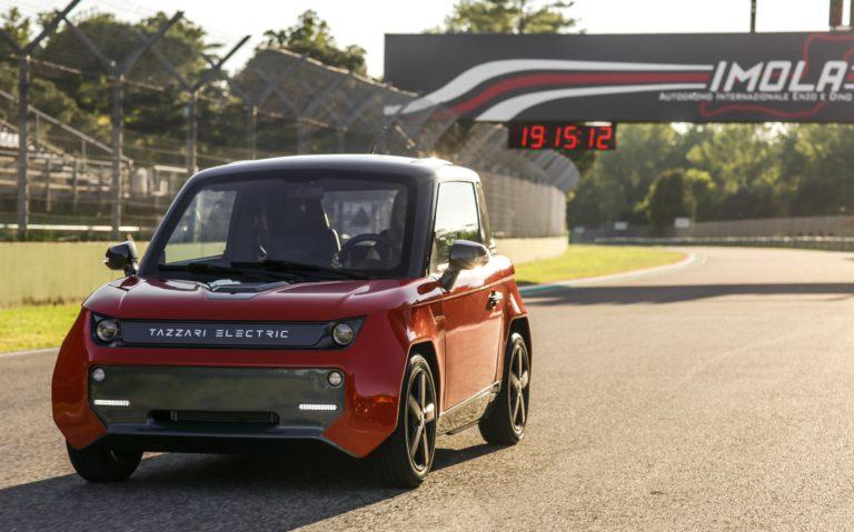 Tazzari EV Zero City, ιταλική απάντηση στην ηλεκτροκίνηση