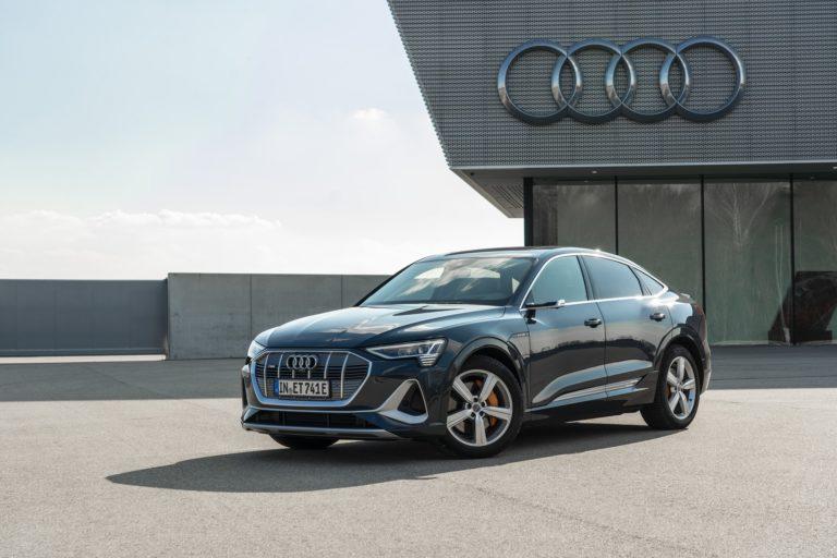 Audi e-tron Sportback, ένα κουπέ SUV στην οικογένεια e-tron