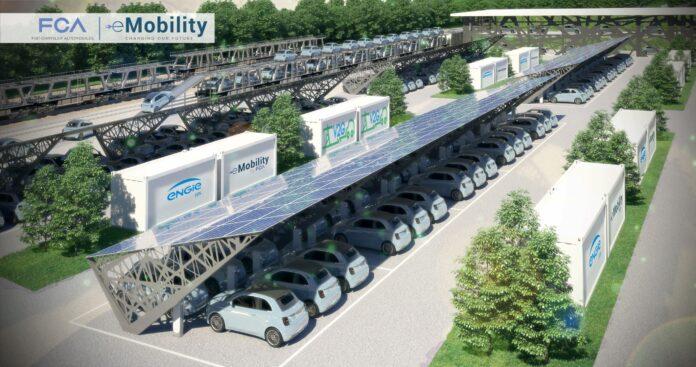 Η FCA και η Engie ξεκινούν εργασίες για το μεγαλύτερο εργοστάσιο vehicle-to-grid