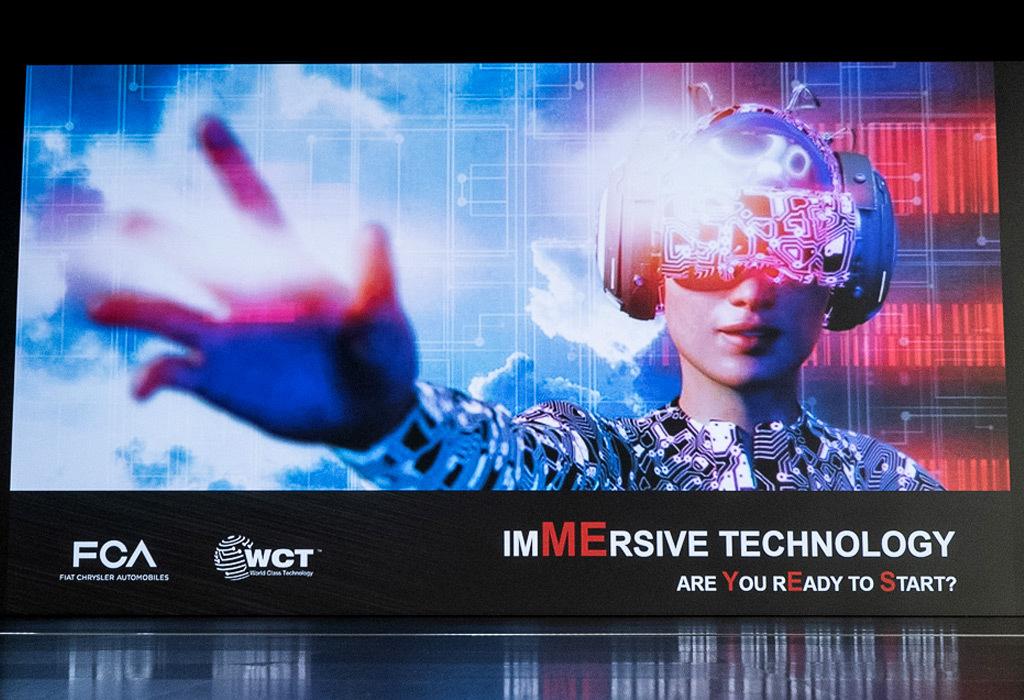 Η FCA εγκαινιάζει κέντρο εικονικής πραγματικότητας
