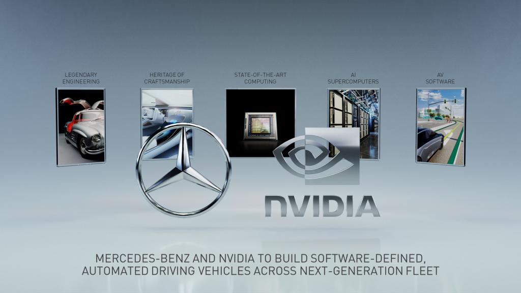 Συνεργασία Mercedes-Benz και NVIDIA