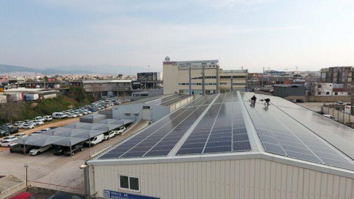 Πράσινη ενέργεια για τη Nissan Νικ. Ι. Θεοχαράκης Α.Ε.