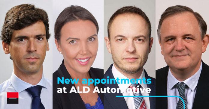 Τέσσερις σημαντικές τοποθετήσεις στελεχών στην ALD Automotive