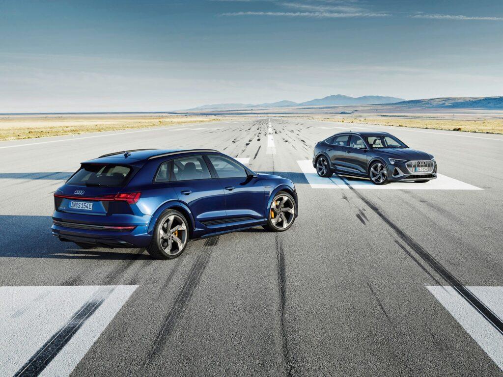 Audi e tron S και Audi e tron S Sportback