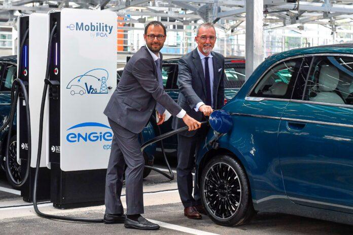 FCA e-Mobility: Εγκαίνια για το μεγαλύτερο δίκτυο V2G στον κόσμο