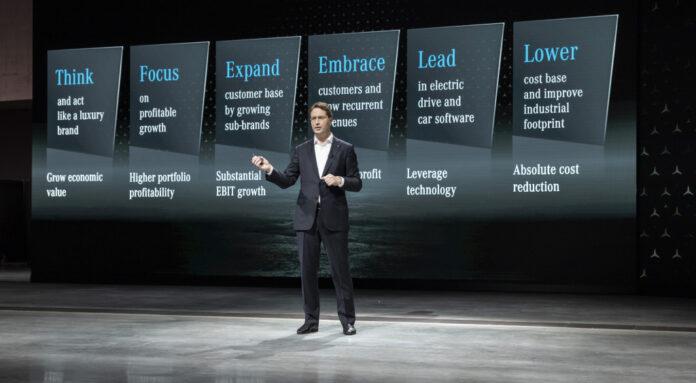 Nέα στρατηγική της Mercedes-Benz για υψηλότερη κερδοφορία