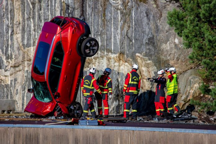 Volvo Cars: ακραία δοκιμή σύγκρουσης για απεγκλωβισμό