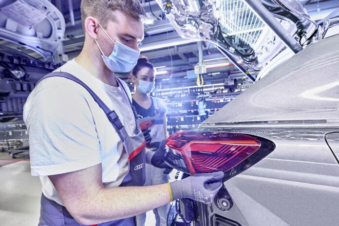 Έναρξη παραγωγής του Audi Q4 e-tron