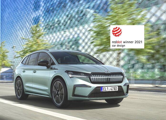 Βραβείο Red Dot στο Škoda ENYAQ iV