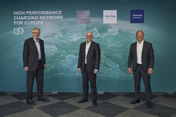 Κοινοπραξία Daimler Truck, Traton Group, Volvo Group